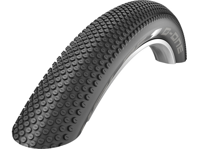 "SCHWALBE G-One Allround Cykeldæk 27,5"" SnakeSkin TL-Easy E-25 Evolution sort"
